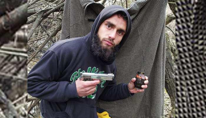 जम्मू कश्मीर: हिजबुल मुजाहिद्दीन के आतंकी जाहिद को सुरक्षाबलों ने किया ढेर