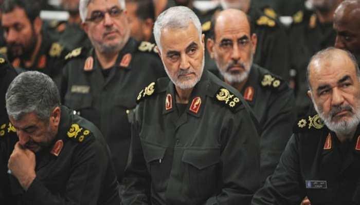 कमांडर सुलेमानी की मौत का बदला लेने के लिए दागी मिसाइलें : इस्लामिक रिवोल्यूशनरी गार्ड्स कॉर्प्स