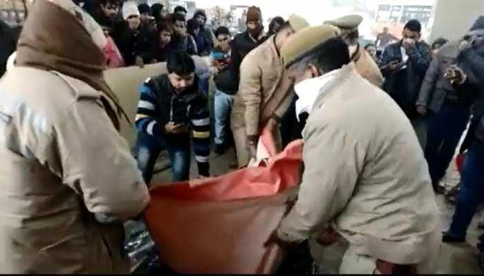 बक्से में दामाद की लाश ले जा रहा था ससुर, पुलिस ने ठिकाने लगाने से पहले बस्ती से दबोचा