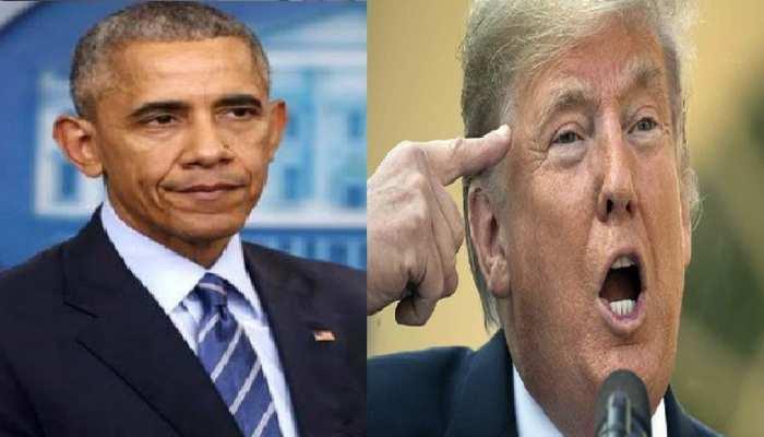 ओबामा पर भड़के ट्रंप, पिछली सरकारों की मूर्खता से बढ़ी ईरान से दुश्मनी
