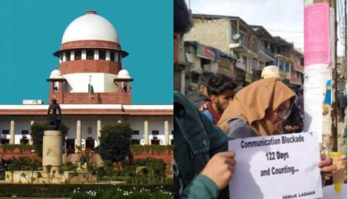 जम्मू कश्मीर में इंटरनेट बैन के खिलाफ सुप्रीम कोर्ट