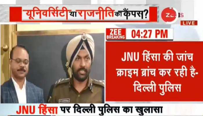 JNU हिंसा: 9 नकाबपोशों की पहचान, दिल्ली पुलिस ने तस्वीरों के साथ जारी की लिस्ट