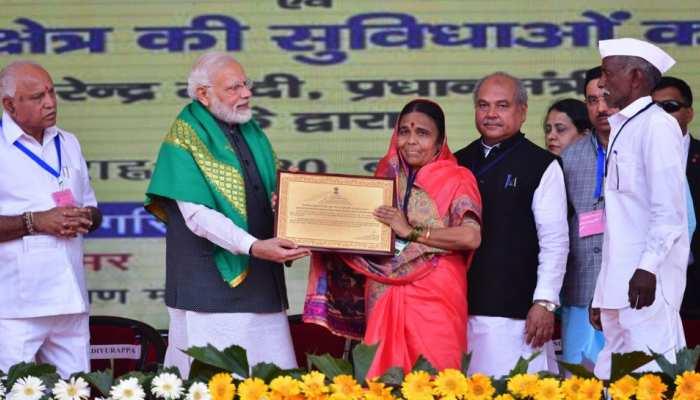 भीषण सूखे के बीच इस महिला ने किया रिकॉर्ड तोड़ फसल का उत्पादन, पीएम मोदी ने किया सम्मानित