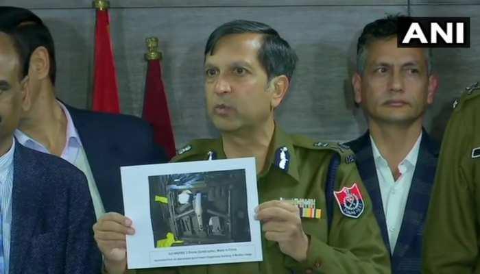 पाक ड्रोन से भेज रहा था नशा और हथियार, पंजाब पुलिस ने तीन को पकड़ा