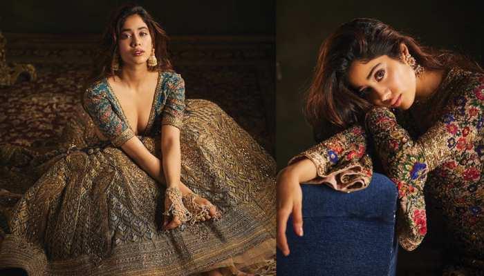 Janhvi Kapoor looks beautiful in her latest Photoshoot