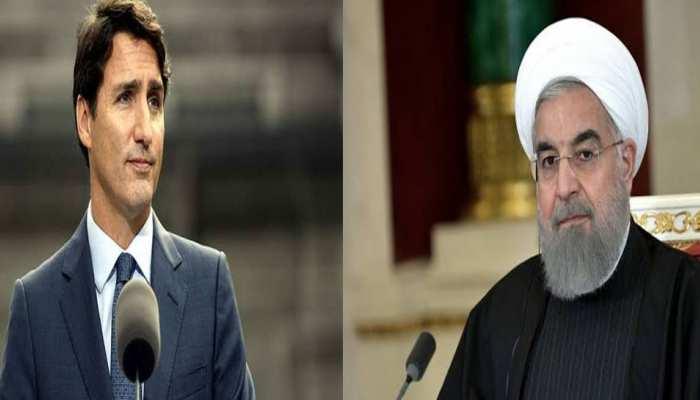 मार गिराए यूक्रेनी विमान का मामला: कनाडा के PM ने ईरानी राष्ट्रपति से फोन पर कही यह बात