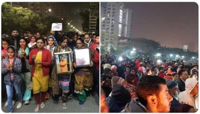 नोएडा हत्याकांड: लोगों में बढ़ा आक्रोश, गौरव चंदेल को कब मिलेगा इंसाफ?