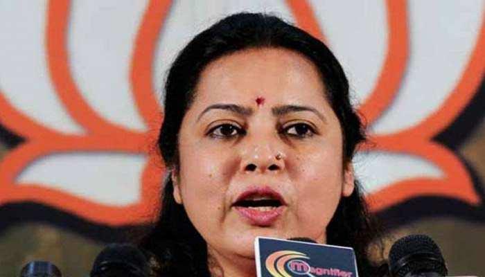 मीनाक्षी लेखी का कांग्रेस पर निशाना, 'घुसपैठियों के साथ खड़े हैं CAA और NRC के विरोधी'