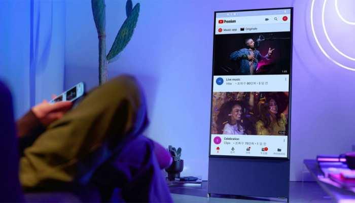 टीवी में मोबाइल फोन की तरह चलाइए TikTok और Instagram, लॉन्च होने वाला है घूमने वाला टीवी