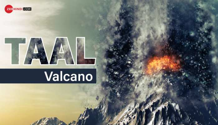 Taal volcano erupts again after 46 years, explodes 34 times in 450 years