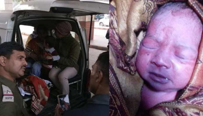 चलती ट्रेन में महिला ने बच्चे को दिया जन्म, RPF ने ऐसे की मदद
