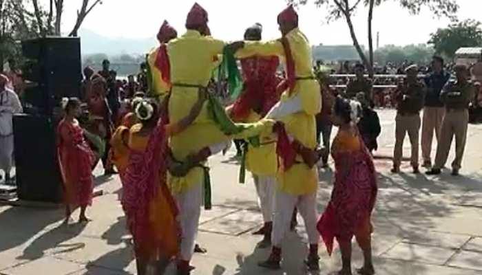 जयपुर में पर्यटन विभाग ने किया काइट फेस्टिवल का आयोजन, पर्यटक भी हुए शामिल