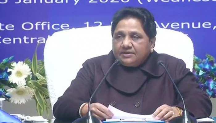 राज्यों से विदा हो रही है BJP, अगर कांग्रेस की राह पर चलेगी तो देश से भी विदा हो जाएगी: मायावती