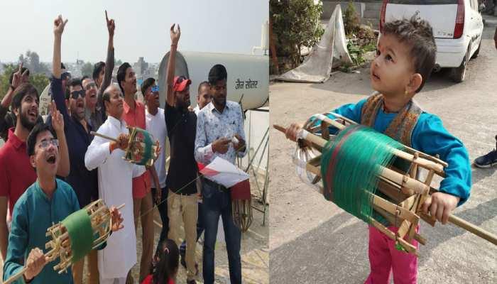 नासिक के येवला में मकर संक्रांति पर पतंग महोत्सव, शहर की दुकानें बंद