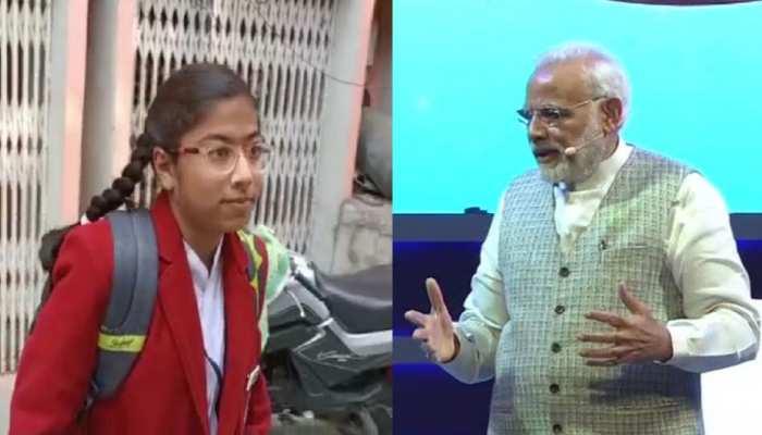 MP: 'परीक्षा पर चर्चा' कार्यक्रम में PM से सवाल पूछने के लिए तैयार खंडवा की ये छात्रा