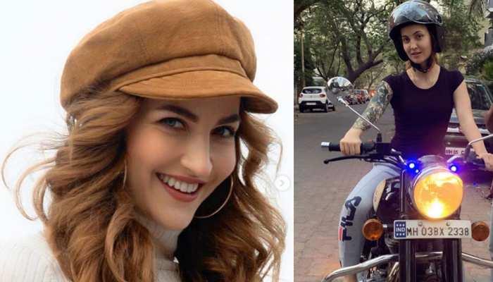 एली एवराम ने महज 3 दिनों में बाइक चलाना सीखा, VIDEO देखकर फैंस बोले- 'जे बात!'