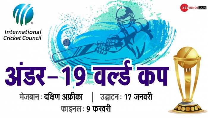 U19 World Cup: अंडर-19 विश्व कप आज से, भारत का पहला मैच श्रीलंका से