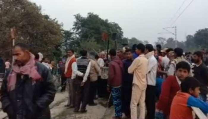 बिहार: समस्तीपुर में बैलगाड़ी से टकराई ट्रेन, 4 लोगों की हुई मौत