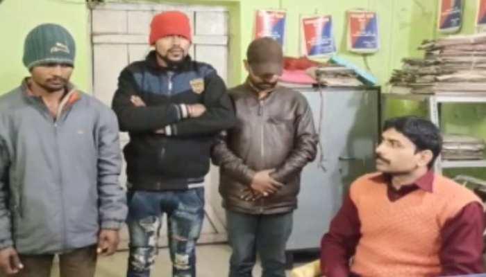 बिहार: पुलिस ने तीन अपराधियों को किया गिरफ्तार, 1 पिस्टल, 4 जिंदा कारतूस बरामद