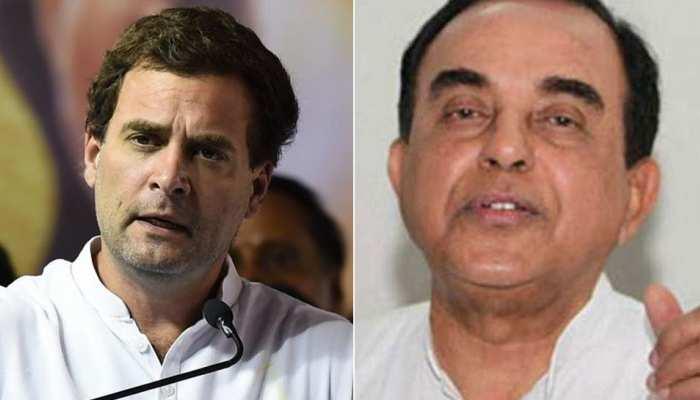 DSP देविंदर सिंह मामले की NIA जांच पर राहुल गांधी ने उठाए सवाल, स्वामी ने दिया तीखा जवाब