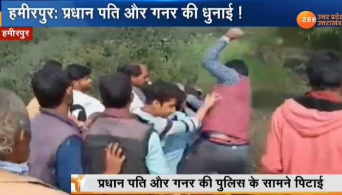 UP: सरकारी गौ-शाला से गायों को छोड़ने पर गुस्साए किसान, ग्राम प्रधान पति को जमकर पीटा