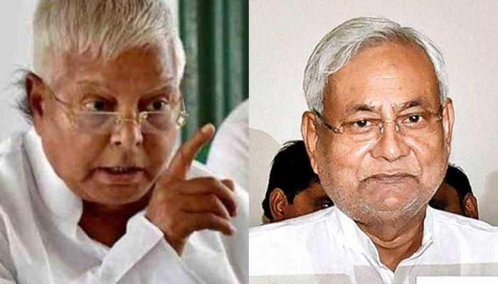 बिहार: मानव श्रृंखला को लेकर CM नीतीश पर बरसे लालू, बीजेपी ने किया पलटवार