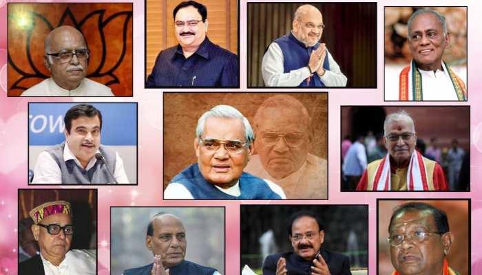 अबतक के सभी भाजपा अध्यक्षों ने जमीन से की थी शुरुआत, पढ़ें: पूरा इतिहास