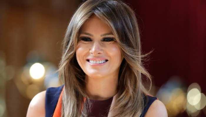 USA president donald trump's wife melania trump is super hot