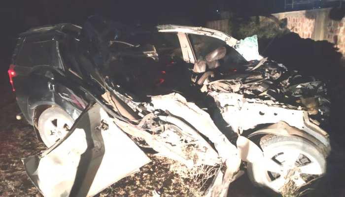 नागौर: ईनाणा के पास ट्रक से टकराई SUV, मौके पर तीन की मौत और 2 घायल