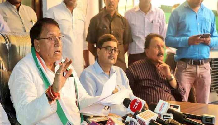 बीजेपी गुंडे-बदमाशों की पार्टी, छेड़छाड़ संघ की संस्कृति और व्यवहार में: मंत्री पीसी शर्मा