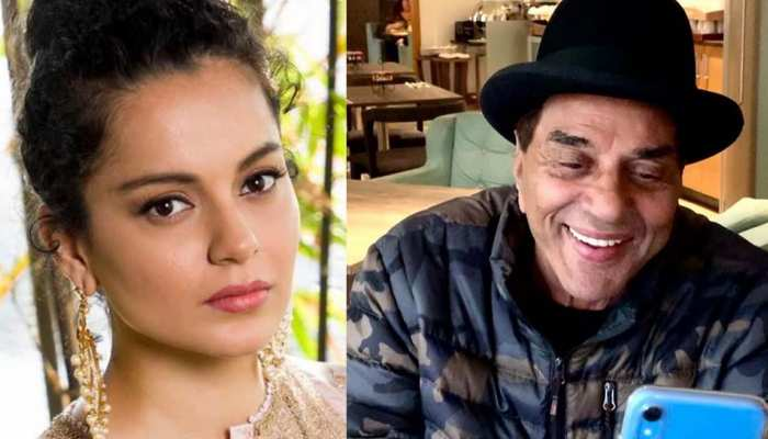Entertainment news today date 22 january, Kangana and Dharmendra