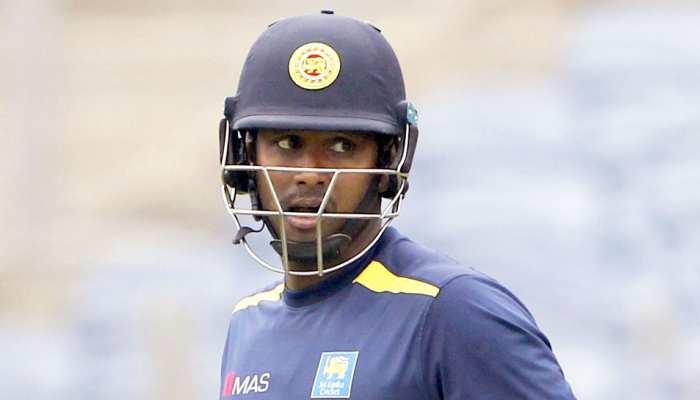 SLvsZIM: एंजेलो मैथ्यूज ने खेली करियर की बेस्ट पारी, श्रीलंका 2020 की पहली जीत के करीब