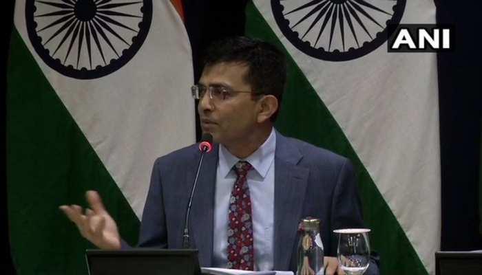 कश्मीर पर ट्रंप के बयान पर भारत का जवाब, यहां पर तीसरे पक्ष को लेकर कोई जगह नहीं