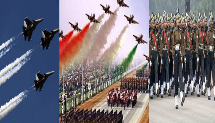 Full dress rehearsal of Republic Day parade 2020