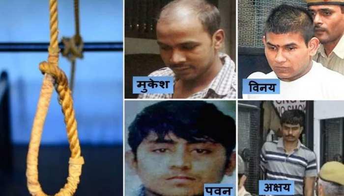 निर्भया के गुनहगारों के परिवारवालों को तिहाड़ जेल ने लिखा खत- इस दिन सुबह फांसी पर लटका देंगे
