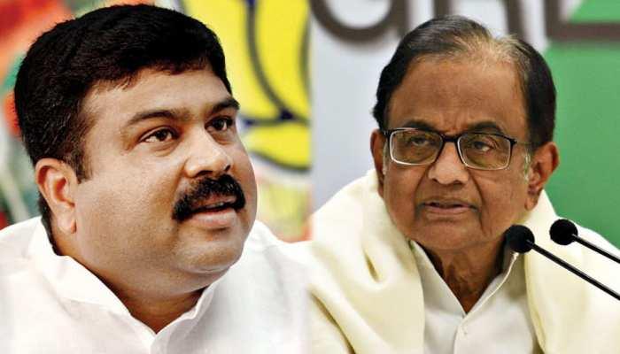 Chidambaram VS Dharmendra Pradhan : चिदंबरम ने कहा- टुकड़े-टुकड़े गैंग, जवाब में धर्मेंद्र प्रधान बोले- 'चिंदी चोर'