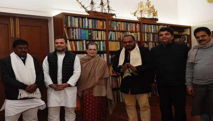 झारखंड: सोनिया से प्रदीप यादव-बंधु तिर्की की मुलाकात पर सियासत शुरू, BJP ने साधा निशाना
