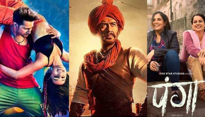 BOX OFFICE पर इतिहास रचने को तैयार है 'तानाजी', क्या 'पंगा' और 'स्ट्रीट डांसर 3D' से भी भिड़ेगी फिल्म?