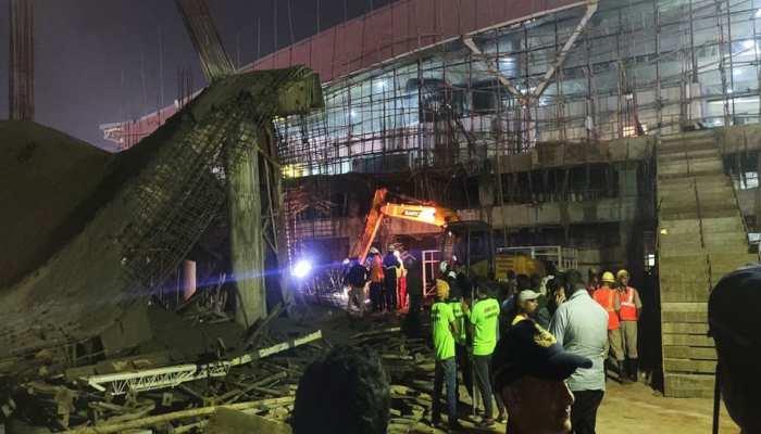 भुवनेश्वर एयरपोर्ट पर बड़ा हादसा, निर्माणाधीन छत गिरने से एक शख्स की मौत