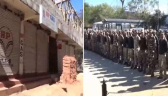 झारखंड: हिंसा के बाद छावनी में तब्दील हुआ लोहरदगा, चप्पे-चप्पे पर सुरक्षाबल तैनात