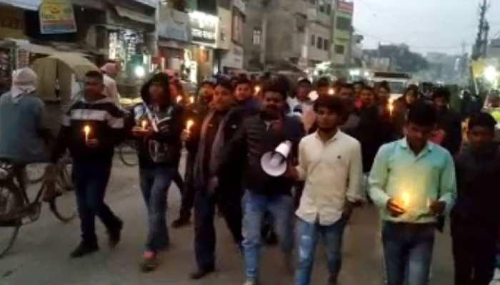 मधुबनी में पुलिस ने व्यापारी की कर दी पिटाई, प्रशासन के खिलाफ संघ ने किया प्रदर्शन