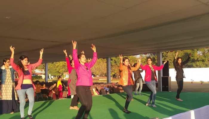 राजस्थान सचिवालय में गणतंत्र दिवस समारोह को लेकर हुई सांस्कृतिक कार्यक्रमों की रिहर्सल
