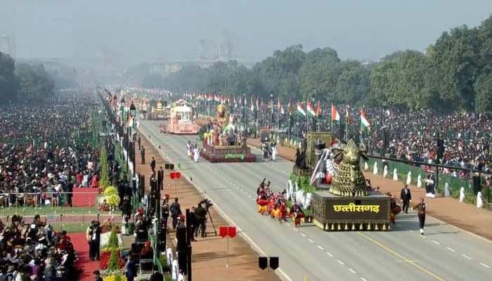 Rupublic Day: राजपथ पर दिखे भारत की सकाफ़त के रंग, बहादुरी और हिम्मक का भी मुज़ाहिरा