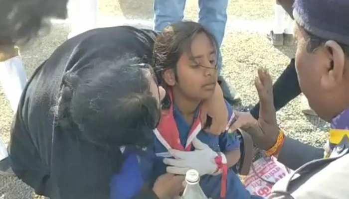 MP: गणतंत्र दिवस के कार्यक्रम में 2 स्काउट गाइड कैडेट्स की बिगड़ी तबीयत, प्राथमिक उपचार के लिए भेजा