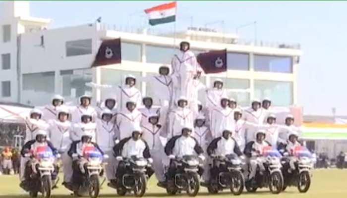 जयपुर: SMS स्टेडियम में गणतंत्र दिवस पर विशेष कार्यक्रम, राज्यपाल मिश्र ने किया झंडारोहण