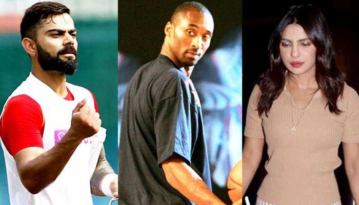 Basketball: कोबे ब्रायंट की मौत से कोहली सदमे में, प्रियंका चोपड़ा बोलीं- रियल हीरो