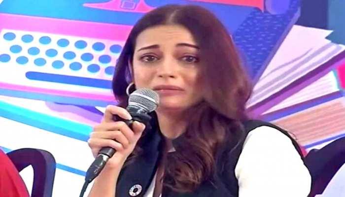 जयपुर लिटरेचर फेस्टिवल में फूट-फूट कर रोईं एक्ट्रेस दीया मिर्जा, खुद बताई इसकी वजह...