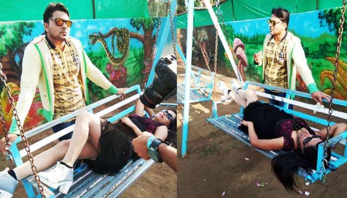 Bhojpuri News: Pictures of this Bhojpuri film Shooting went viarl on social media