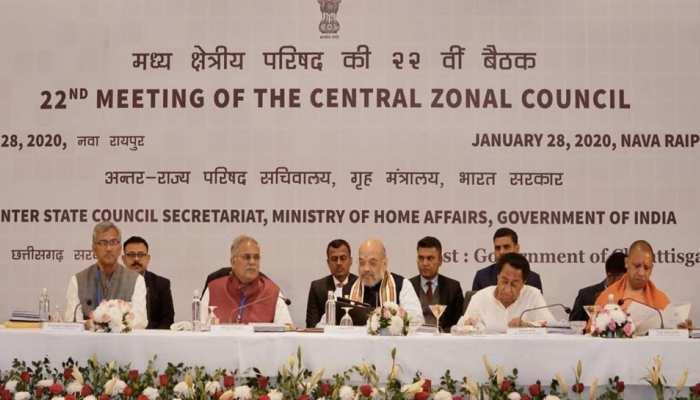 गृह मंत्री अमित शाह की अध्यक्षता में हुई मध्य क्षेत्रीय परिषद की बैठक, CM त्रिवेंद्र ने रखी ये मांगें