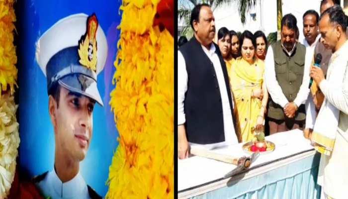 MP: शहीद लेफ्टिनेंड धर्मेंद्र सिंह के स्मारक का रतलाम में हुआ भूमि पूजन, मां ने रखी ये मांग